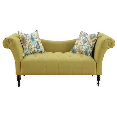 Chase Settee Upholstery: Lime