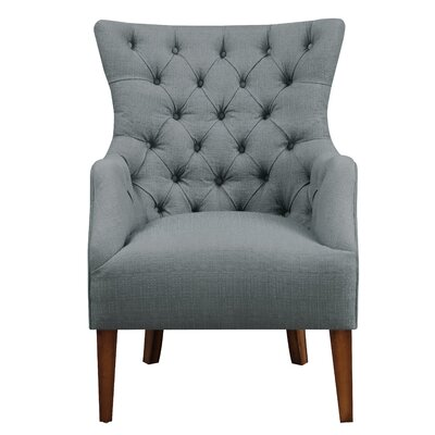 Sharman Arm Chair Upholstery: Spruce