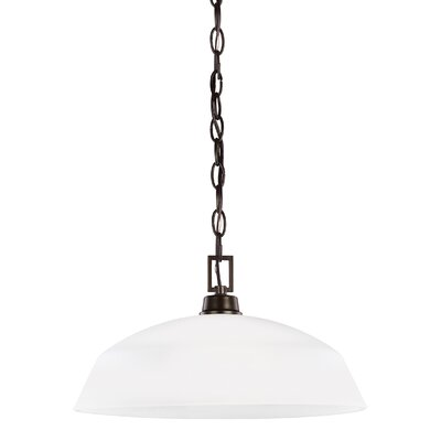 Ardaghmore 1-Light Inverted Pendant Finish: Heirloom Bronze