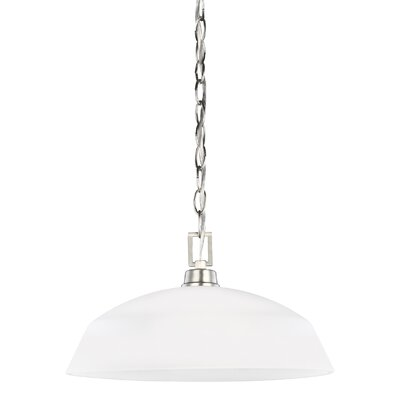 Ardaghmore 1-Light Inverted Pendant Finish: Brushed Nickel