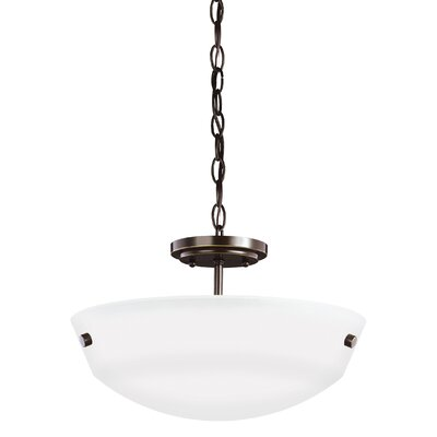 Ardaghmore 2-Light Bowl Pendant Finish: Heirloom Bronze