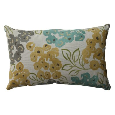 Malcolm Floral Cotton Lumbar Pillow