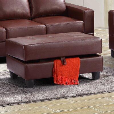 Deschutes Ottoman Upholstery: Brown