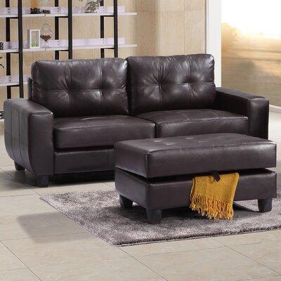 Muttontown Sofa Upholstery: Cappucino