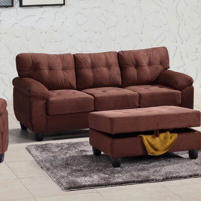 Childress Sofa Upholstery: Chocolate