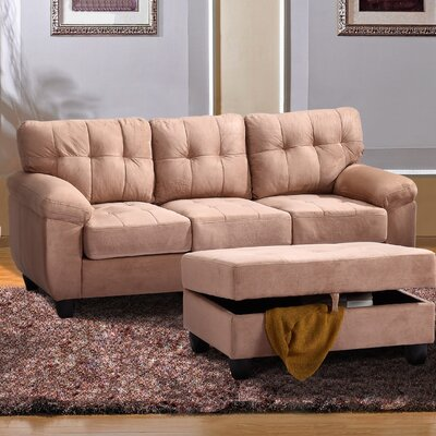 Childress Sofa Upholstery: Saddle