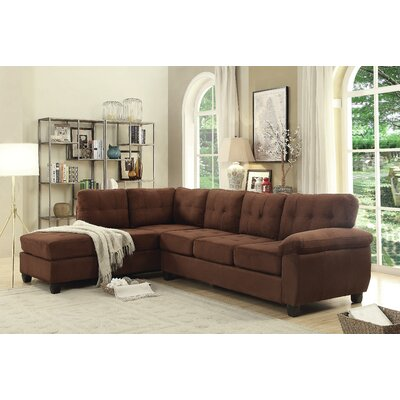 Childress Sectional Upholstery: Chocolate