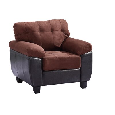 Old Westbury Club Chair Color: Chocolate