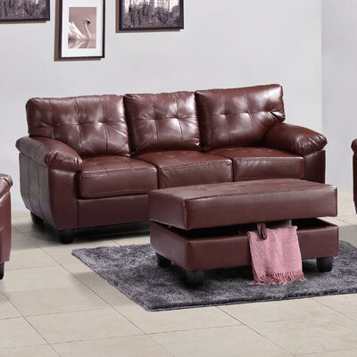 Old Westbury Sofa Upholstery: Brown