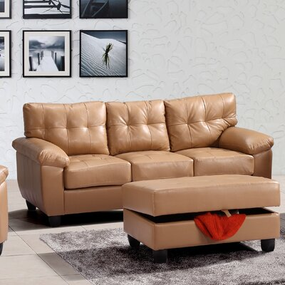 Old Westbury Sofa Upholstery: Tan