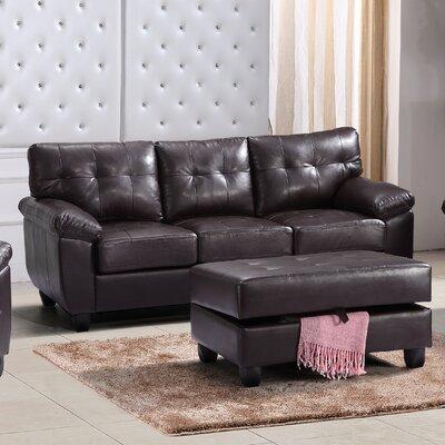 Old Westbury Sofa Upholstery: Cappucino