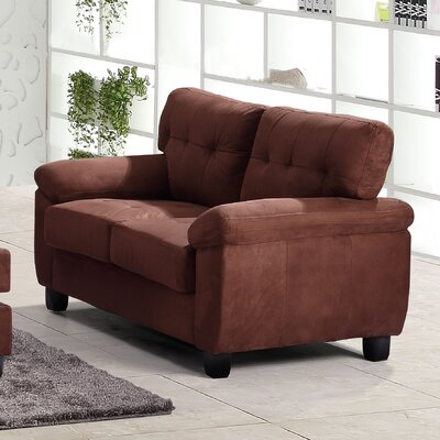 Old Westbury Loveseat Upholstery: Chocolate