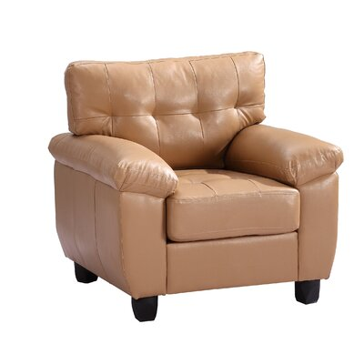 Childress Club Chair Upholstery: Tan