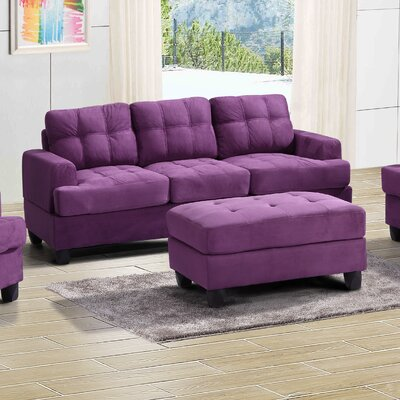 Hunts Point Sofa Upholstery: Purple