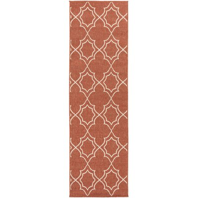 Amato Red Indoor/Outdoor Area Rug Rug Size: Runner 23 x 119