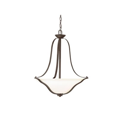 Avilla 3-Light Bowl Pendant