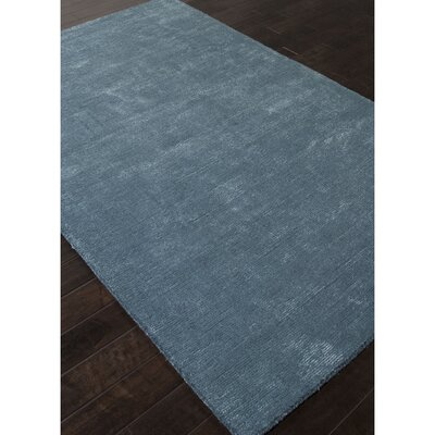 Windridge Blue Solid Rug Rug Size: Rectangle 36 x 56