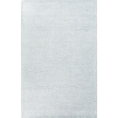 Windridge Blue Solid Area Rug Rug Size: 5 x 8