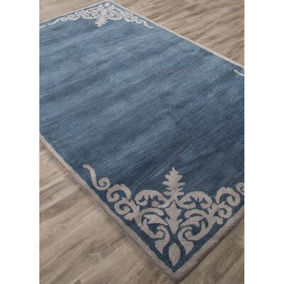 Farnsworth Hand-Tufted Blue/Ivory Area Rug Rug Size: 8 x 11