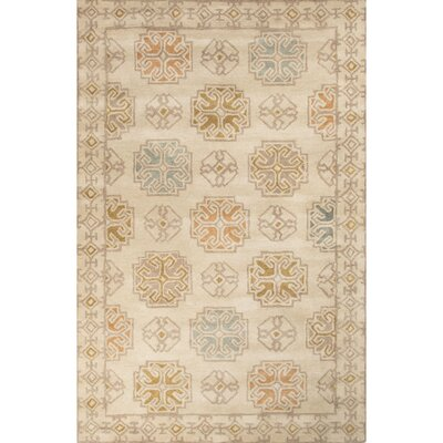 Windward Hand-Tufted Beige/Yellow Area Rug Rug Size: 8 x 11