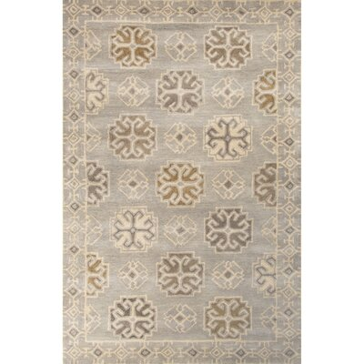 Windward Hand-Tufted Gray/Ivory Area Rug Rug Size: 5 x 8