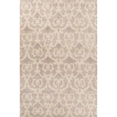 Farnsworth Hand-Tufted Gray/Ivory Area Rug Rug Size: 2 x 3