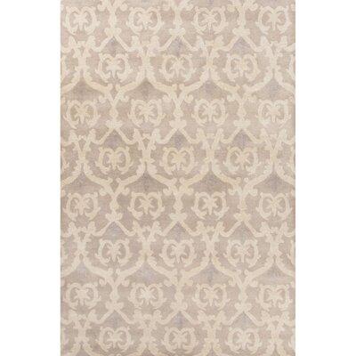 Farnsworth Hand-Tufted Gray/Ivory Area Rug Rug Size: 8 x 11