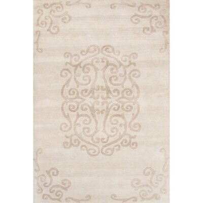 Farnsworth Hand-Tufted Ivory/Beige Area Rug Rug Size: 2' x 3'