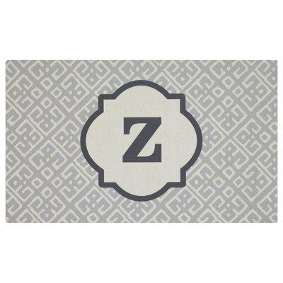 Stroupe Monogram Kitchen Mat Letter: Z