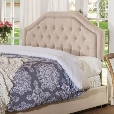 Brook Farm King Upholstered Panel Headboard