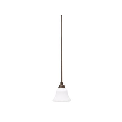 Avilla 1-Light Mini Pendant Finish: Olde Bronze