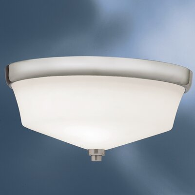 Avilla 2-Light Flush Mount Finish: Brushed Nickel