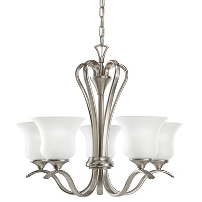 Barile 5-Light Shaded Chandelier