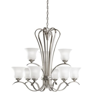 Barile 9-Light Shaded Chandelier