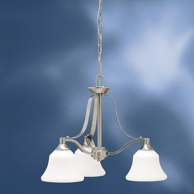 Avilla 3-Light Shaded Chandelier