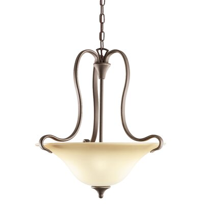 Barile 3 Light Mini Inverted Pendant