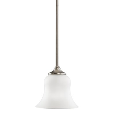 Barile 1-Light Mini Pendant Finish: Brushed Nickel