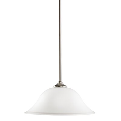 Barile 1-Light Inverted Pendant Finish: Brushed Nickel