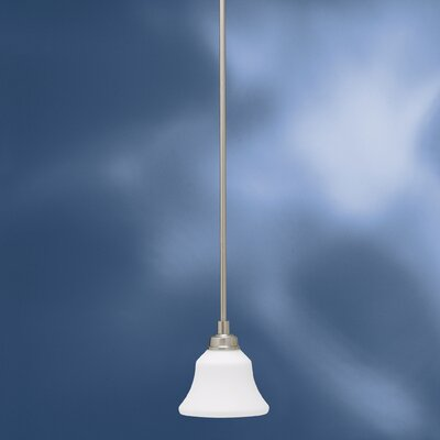 Avilla 1-Light Mini Pendant Finish: Brushed Nickel