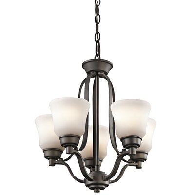 Avilla 5-Light Bowl Pendant Finish: Olde Bronze