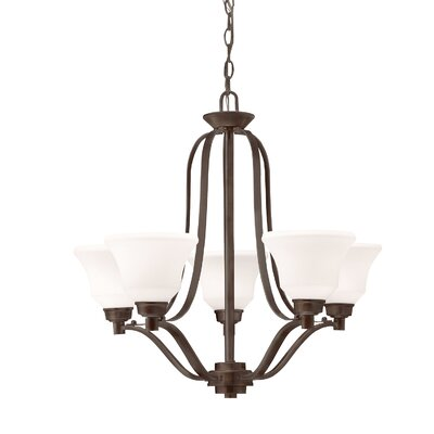 Avilla 5-Light Shaded Chandelier