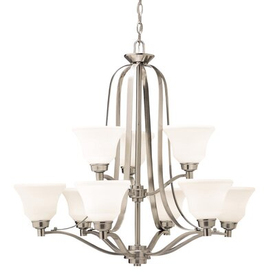 Avilla 9-Light Shaded Chandelier