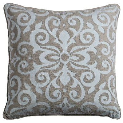 Warrensville Cotton Linen Throw Pillow