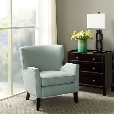 Eller Arm Chair Upholstrey: Light Blue