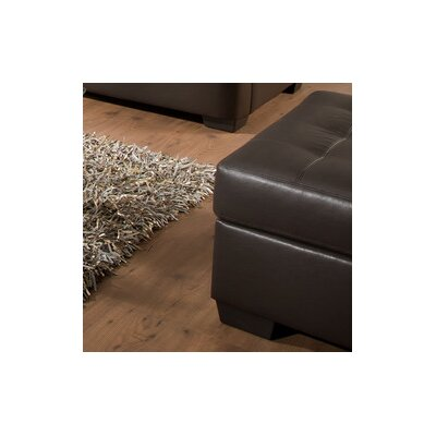 Simmons Upholstery Labarre Ottoman Upholstery: Espresso
