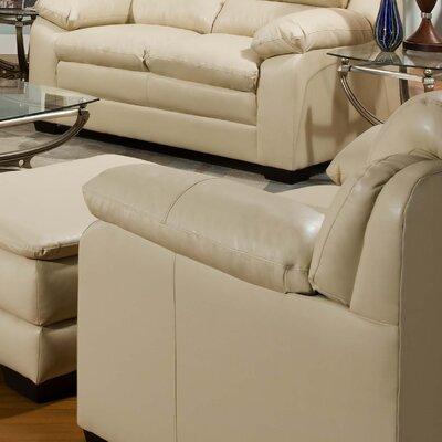 Simmons Upholstery Labarre Chair Color: Natural