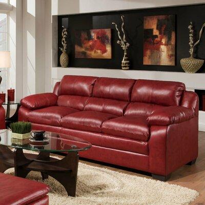 Simmons Upholstery Labarre Sofa Upholstery: Cardinal