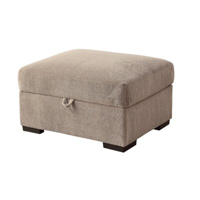 Axton Storage Ottoman Upholstery: Taupe