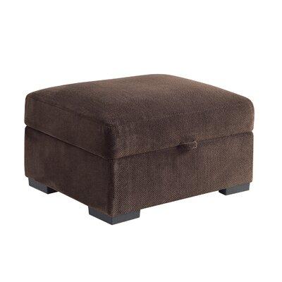 Axton Storage Ottoman Upholstery: Chocolate