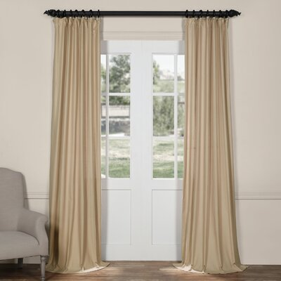 Avella Indoor/Outdoor Cotton/Linen Single Curtain Panel